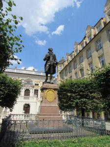 Goelthe Denkmal