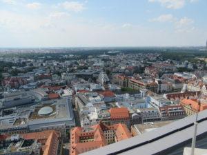 Aussicht über Leipzig