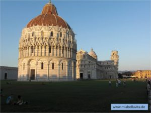 Toskana Pisa Turm